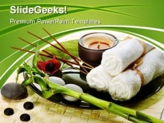 Spa With Incense Sticks Nature PowerPoint Themes And PowerPoint Slides 0311