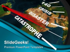 Speeding Global Catastrophe Travel PowerPoint Templates And PowerPoint Backgrounds 0211