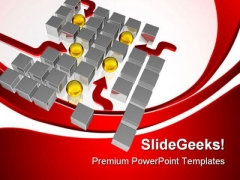 Spheres Leadership PowerPoint Templates And PowerPoint Backgrounds 0811