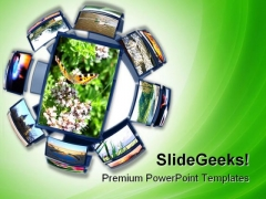 Spherical Colorful Environment PowerPoint Themes And PowerPoint Slides 0211