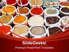 Spice Food PowerPoint Templates And PowerPoint Backgrounds 0211