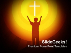 Spirituality Religion PowerPoint Templates And PowerPoint Themes 0712