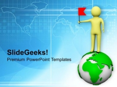 Spread Your Fame Globaly For Business PowerPoint Templates Ppt Backgrounds For Slides 0713