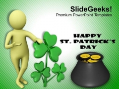 St Patricks Day Celebration Holiday PowerPoint Templates Ppt Backgrounds For Slides 0313