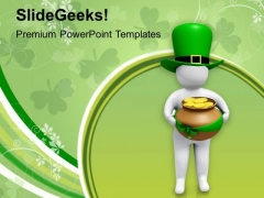 St Patricks Day Cultural Religious Holiday PowerPoint Templates Ppt Backgrounds For Slides 0313