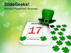 St Patricks Day Holiday PowerPoint Templates Ppt Backgrounds For Slides 0213
