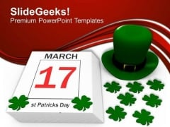 St Patricks Feast Day Holiday PowerPoint Templates Ppt Backgrounds For Slides 0213