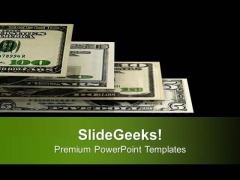 Stack Of Us Dollars Money PowerPoint Templates Ppt Backgrounds For Slides 0413