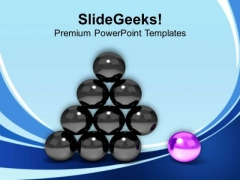 Stand Out From The Crowd Leadership PowerPoint Templates Ppt Backgrounds For Slides 0413