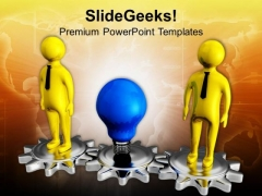 Stand With Your Ideas For Business PowerPoint Templates Ppt Backgrounds For Slides 0713