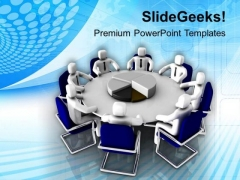 Statistical Business Meeting PowerPoint Templates Ppt Backgrounds For Slides 0213