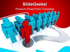 Stepping Forward With Solution Business PowerPoint Themes And PowerPoint Slides 0811