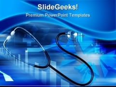 Stethoscope Medical PowerPoint Templates And PowerPoint Backgrounds 0211