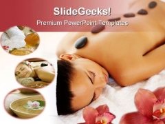 Stone Massage Therapy Beauty PowerPoint Templates And PowerPoint Backgrounds 0711