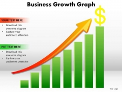Strategic Management Business Growth Graph Consulting Diagram