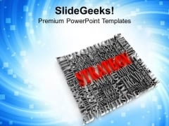 Strategy Includes All Terms Business PowerPoint Templates Ppt Backgrounds For Slides 0413
