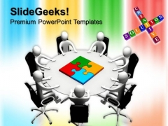 Strategy Solution Meeting PowerPoint Templates And PowerPoint Themes 0612