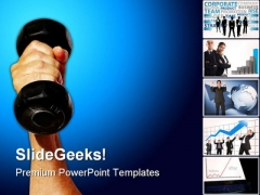 Strength Business PowerPoint Themes And PowerPoint Slides 0311