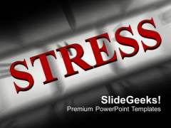Stress PowerPoint Templates Ppt Backgrounds For Slides 1212