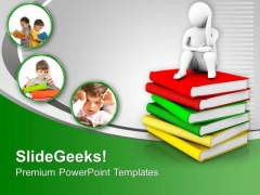 Study Can Improve Your Life PowerPoint Templates Ppt Backgrounds For Slides 0613