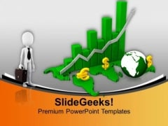 Study The Global Business Result PowerPoint Templates Ppt Backgrounds For Slides 0613
