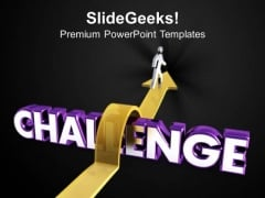 Succeed In Overcoming Challenges Business PowerPoint Templates Ppt Backgrounds For Slides 0613