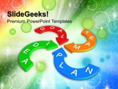 Success Action Plan Team PowerPoint Templates And PowerPoint Themes 1012