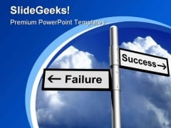 Success And Failure Business PowerPoint Templates And PowerPoint Backgrounds 0811