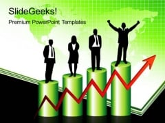 Success Bar Graph Business PowerPoint Templates And PowerPoint Themes 0212