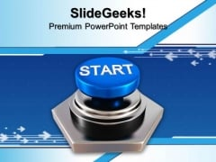 Success Button Finance PowerPoint Templates And PowerPoint Themes 1012