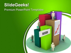 Success City Business PowerPoint Themes And PowerPoint Slides 0411