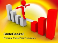 Success Concept Business PowerPoint Backgrounds And Templates 1210