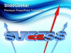 Success Concept Business PowerPoint Templates And PowerPoint Backgrounds 0711