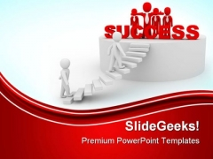 Success Concept Business PowerPoint Themes And PowerPoint Slides 0811