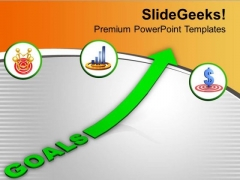 Success Depends On Hard Work And Goal PowerPoint Templates Ppt Backgrounds For Slides 0613