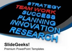 Success Depends On Teamwork PowerPoint Templates Ppt Backgrounds For Slides 0513