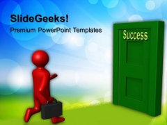 Success Door Future PowerPoint Templates And PowerPoint Themes 0512
