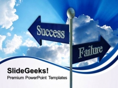 Success Failure Business PowerPoint Templates And PowerPoint Themes 0712