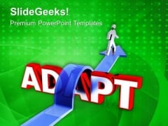 Success In Adapting Challenge PowerPoint Templates Ppt Backgrounds For Slides 0613
