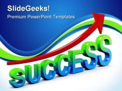 Success In Business Sales PowerPoint Templates And PowerPoint Backgrounds 1011
