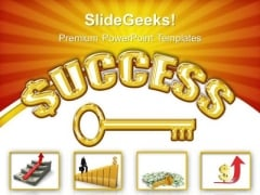 Success Key Business PowerPoint Templates And PowerPoint Themes 0312