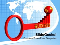 Success Key Global Business Opportunity PowerPoint Templates Ppt Backgrounds For Slides 0313