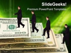 Success Ladder Future PowerPoint Template 0610