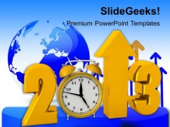 Successful Business Growth Globe PowerPoint Templates Ppt Backgrounds For Slides 1212
