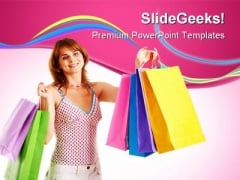 Successful Shopping Sales PowerPoint Templates And PowerPoint Backgrounds 0311