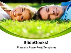 Summer Couple Youth Nature PowerPoint Themes And PowerPoint Slides 0411