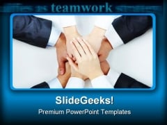 Support People PowerPoint Templates And PowerPoint Backgrounds 0511