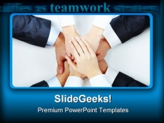 Support People PowerPoint Themes And PowerPoint Slides 0511