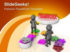 Support Your Team For Success PowerPoint Templates Ppt Backgrounds For Slides 0713