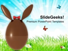 Suprise Your Friends With Easter Bunny PowerPoint Templates Ppt Backgrounds For Slides 0313